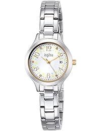 [アンジェーヌ]ingenu 腕時計 ingenu ミモザ限定 500本 白文字盤 AHJT704 レディース