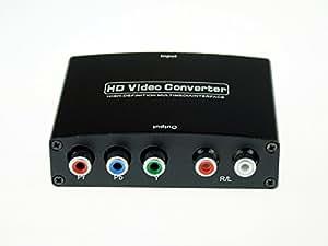 HDMI→コンポーネント変換器 フルハイビジョン対応 【メーカー長期保証付き】