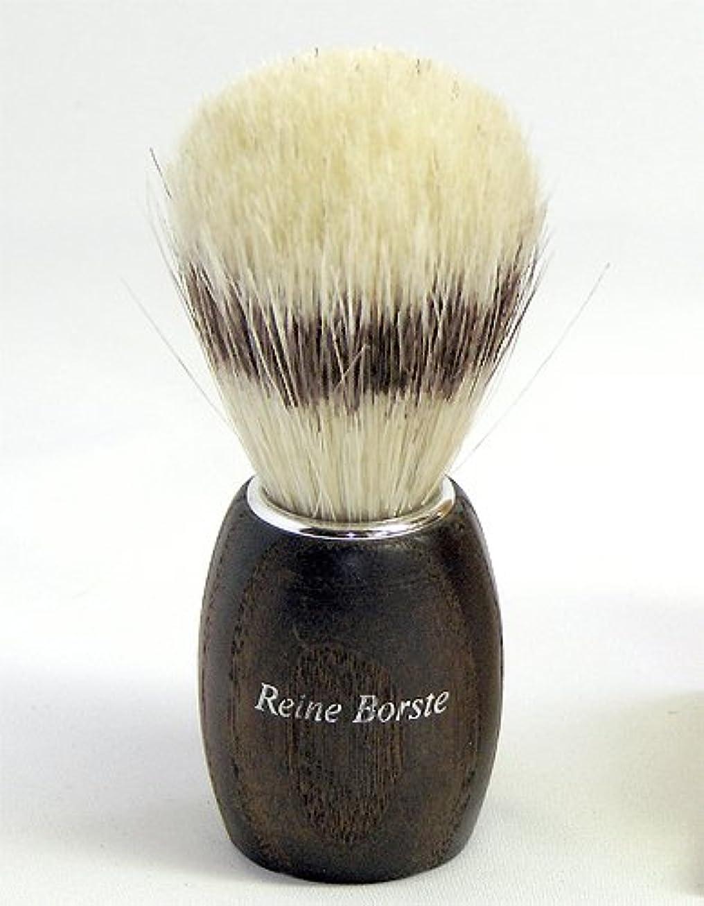 [REDECKER/レデッカー]シェービングブラシ(白豚毛/サーモウッド)