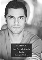 Notebook - the French touch - Paris: Notebook to be completed | 7 x 10 inches | 101 high quality pages | Paperback | Lined | Notebook | Manuscript | black and white photo - Christophe Mendoza