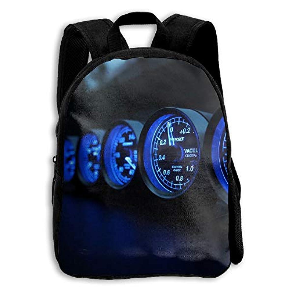 フライトさびたバーキッズ バックパック 子供用 リュックサック スピードメーター 速度計 ショルダー デイパック アウトドア 男の子 女の子 通学 旅行 遠足