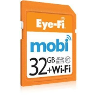 Eyefi Mobi 32GB Class 10 Wi-Fi SDHC Card with 90-day Eyefi Cloud Service (Mobi-32-FF) [並行輸入品]
