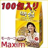 Maxim Coffee Mix マキシム モカゴールドコーヒーミックス スティック100本入り