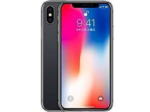 国内版SIMフリー iPhone X 64GB [スペースグレイ] MQAX2J/A 白ロム Apple 5.8インチ有機EL
