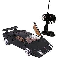 童友社 1/14 ビックスケール RCスーパーカー ランボルギーニ カウンタック LP500S 黒 49MHz