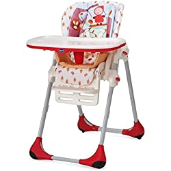 Chicco Polly Double Phase High Chair Happy Land