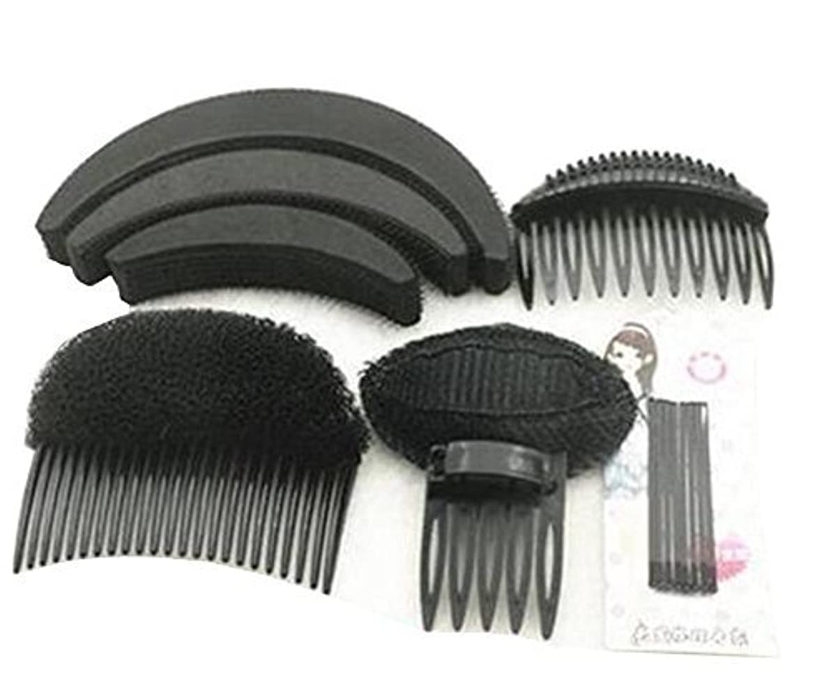フリル時代遅れフィット1 Set As picture Shown Hair Styler Styling Tool DIY Hairpin Bump Up Inserts Base Comb Bumpits Bump Foam Pads Braiding...