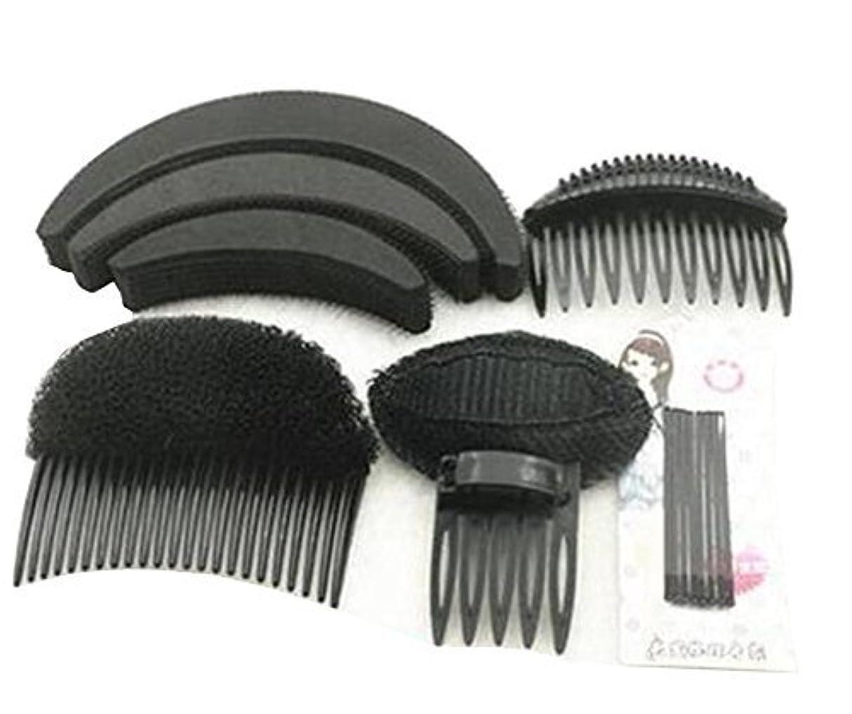 シュート従順グラス1 Set As picture Shown Hair Styler Styling Tool DIY Hairpin Bump Up Inserts Base Comb Bumpits Bump Foam Pads Braiding...