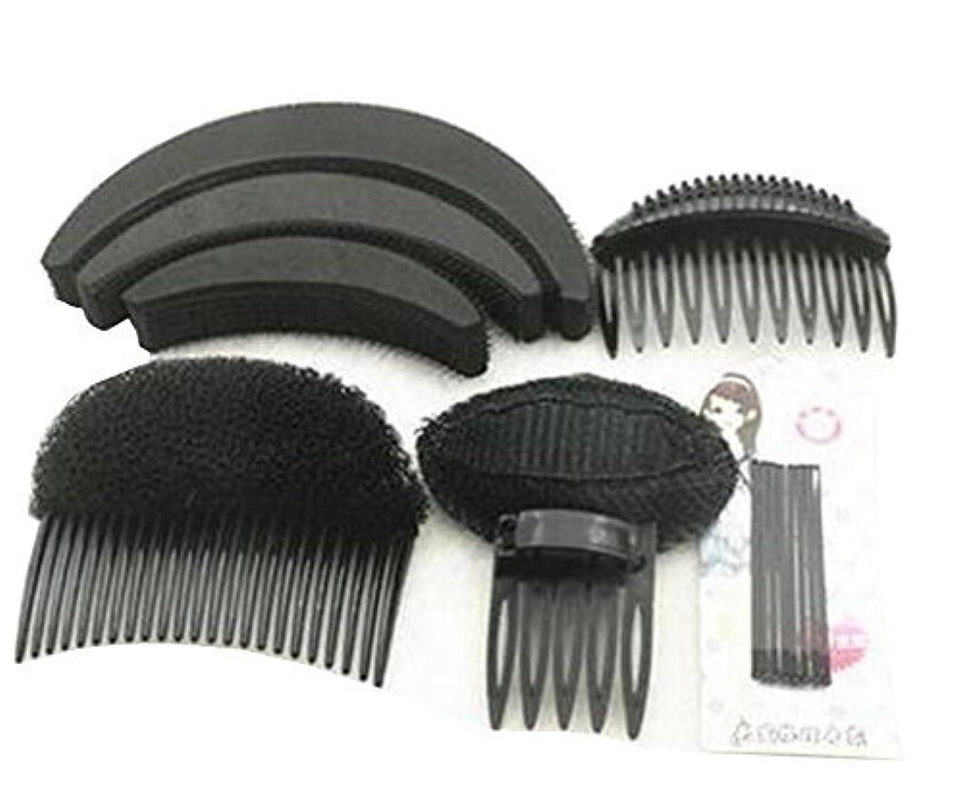 うなる正義さまよう1 Set As picture Shown Hair Styler Styling Tool DIY Hairpin Bump Up Inserts Base Comb Bumpits Bump Foam Pads Braiding...