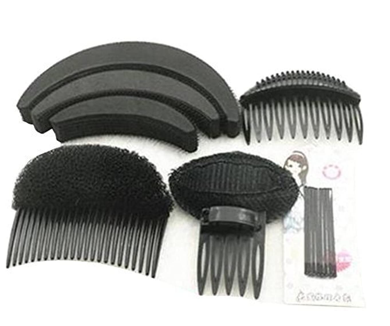 協同中絶退化する1 Set As picture Shown Hair Styler Styling Tool DIY Hairpin Bump Up Inserts Base Comb Bumpits Bump Foam Pads Braiding...