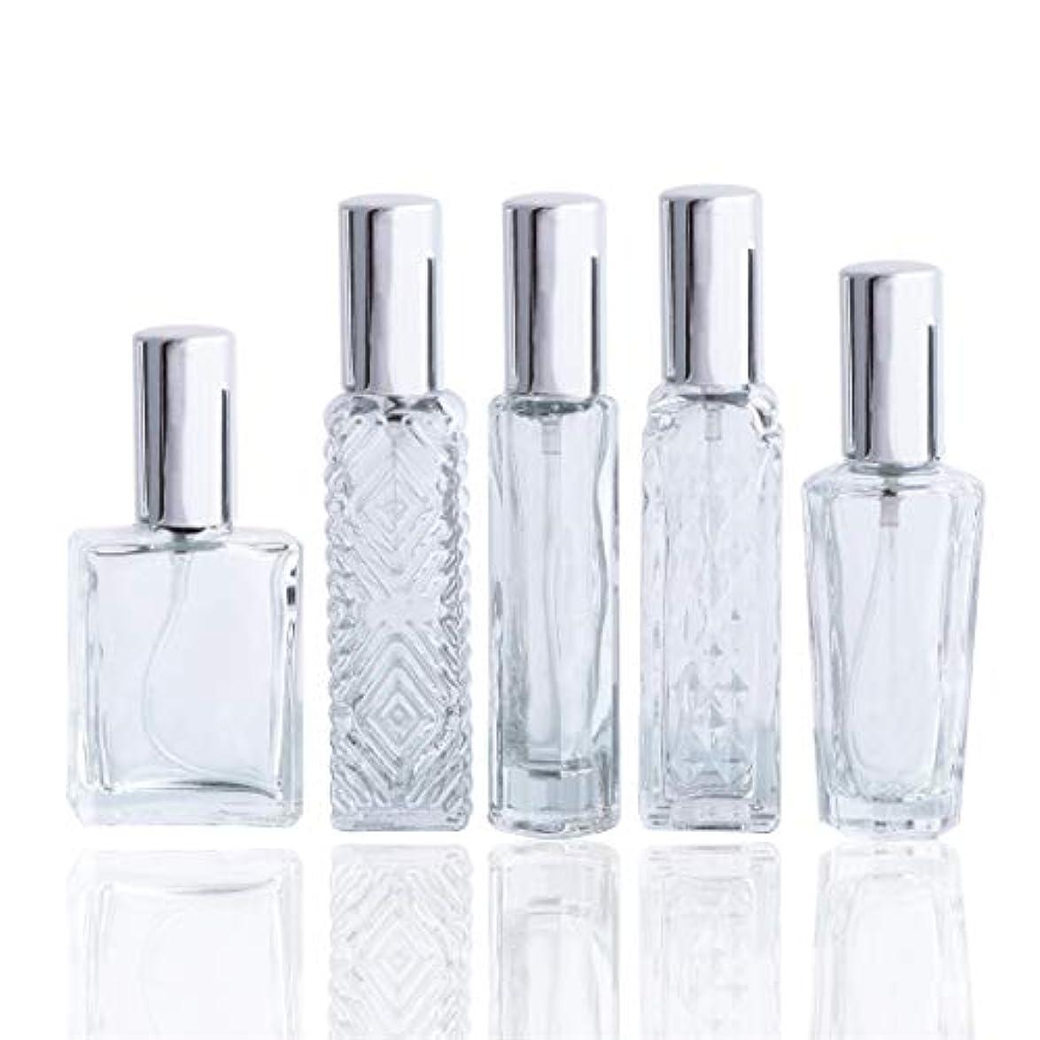 前任者バッテリー広範囲Waltz&Fクリアガラススプレー香水瓶 空きフレグランスボトル詰替用瓶アトマイザー分け瓶 旅行用品 化粧水用瓶