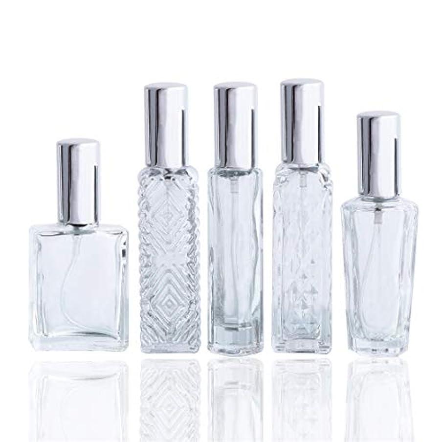アンプ明確なトランクライブラリWaltz&Fクリアガラススプレー香水瓶 空きフレグランスボトル詰替用瓶アトマイザー分け瓶 旅行用品 化粧水用瓶