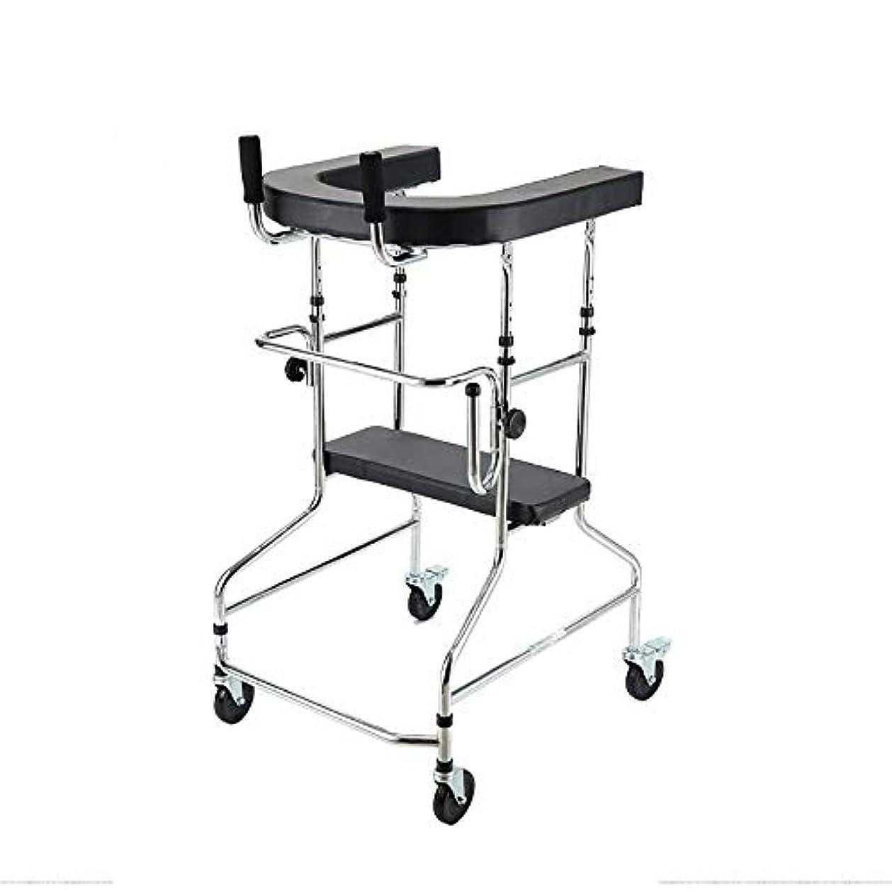納税者ベリー適度な多機能高齢者歩行ブラケットは、半身の不快な人々のための二重腕歩行器を無効にしました