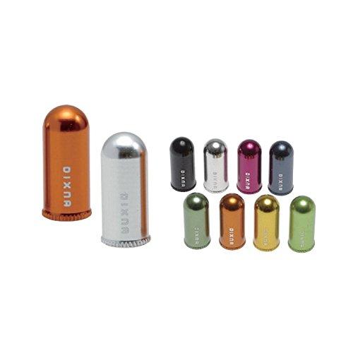 [해외]Dixna (디즈나) 알루미늄 프렌치 밸브 캡 RD (10 개)/Dixna (Disney) Aluminum French Valve Cap RD (10 pieces)