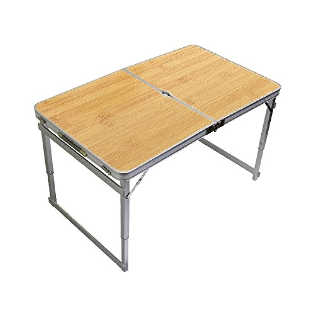 後世東ティモールトロリーバスMERMONT アウトドア テーブル 折りたたみ テーブル レジャーテーブル ピクニックテーブル アウトドアテーブル キャンプ フェス 運動会 に (幅120cm)