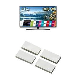 LG 49V型 4K 液晶テレビ HDR対応 49UJ630A(2017年モデル) + 耐震マット(耐震ゲル) セット