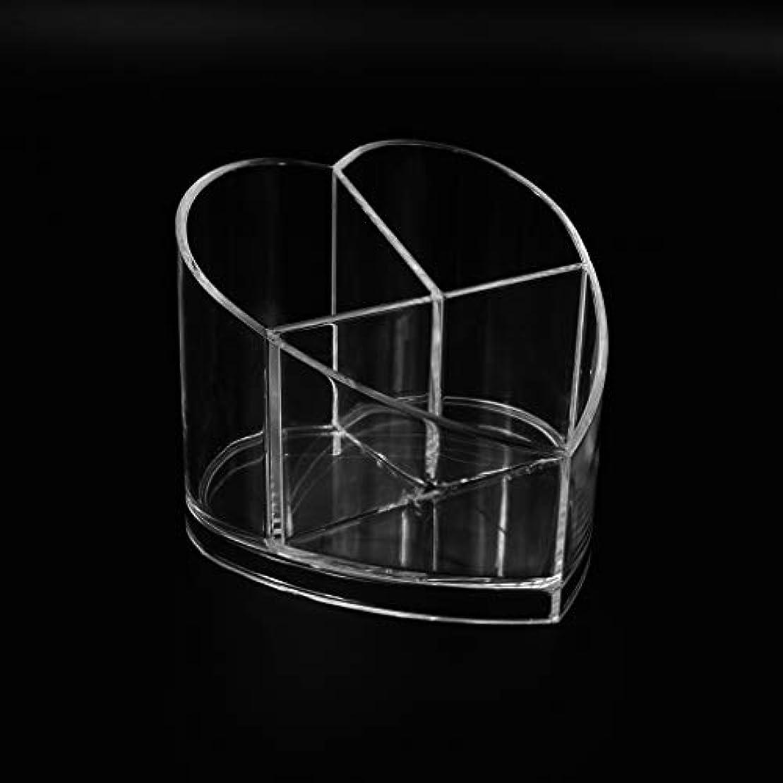 滴下維持分子RiLiKu 卓上収納ケース アクリル メイクブラシホルダー コスメ収納 透明 卓上ペン立て 文房 具 口紅 化粧ブラシ ネイルカラー 収納ケース