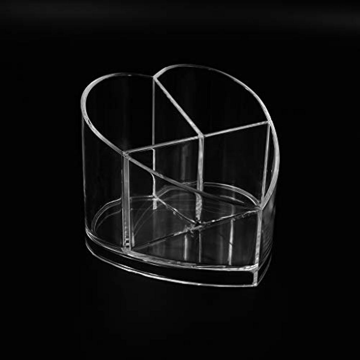 退院粘着性パラメータRiLiKu 卓上収納ケース アクリル メイクブラシホルダー コスメ収納 透明 卓上ペン立て 文房 具 口紅 化粧ブラシ ネイルカラー 収納ケース