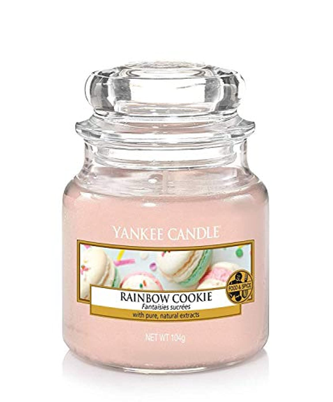 岩神経衰弱足首Yankee Candle Rainbow Cookie Small Jar