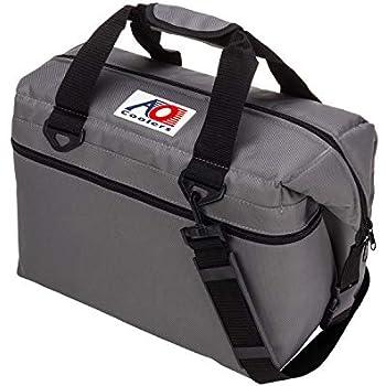 AO Coolers(エーオークーラー) キャンパス ソフトクーラー 24パック チャコール 軽量 保冷 クーラーボックス AO24CH (日本正規品)