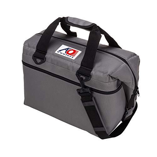 AO Coolers(エーオークーラー) キャンパス ソフトクーラー 24パック チャコール AO24CH (日本正規品)