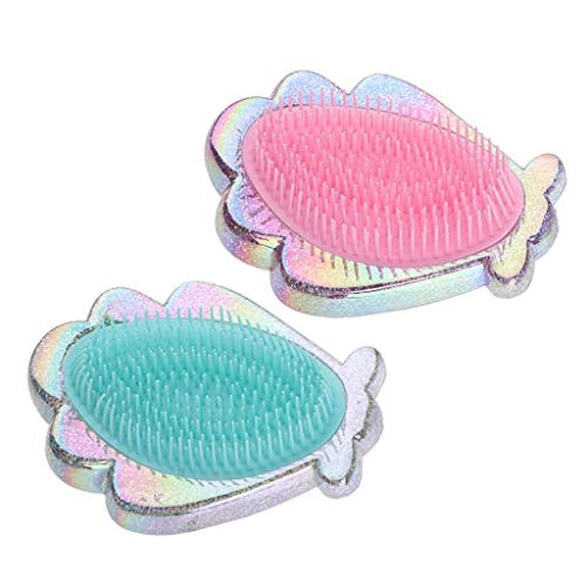 取り除く半円偶然CUTICATE コーム ヘアコーム ヘアブラシ 静電気防止 プラスチック製 女性用 2個パック