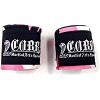 COBRA Hand Wrap CamoPink バンテージ 400cm