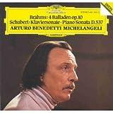Brahms;4 Balladen Op. 10 画像
