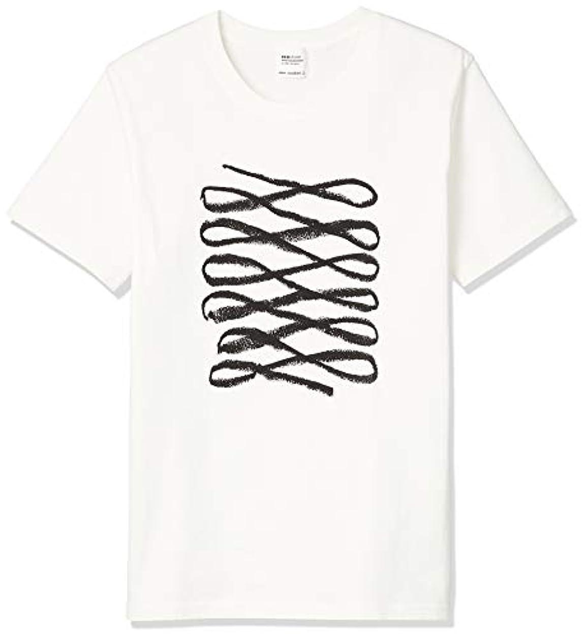 溢れんばかりの医薬古風なecostore(エコストア) オリジナルTシャツ BL Sサイズ 白T