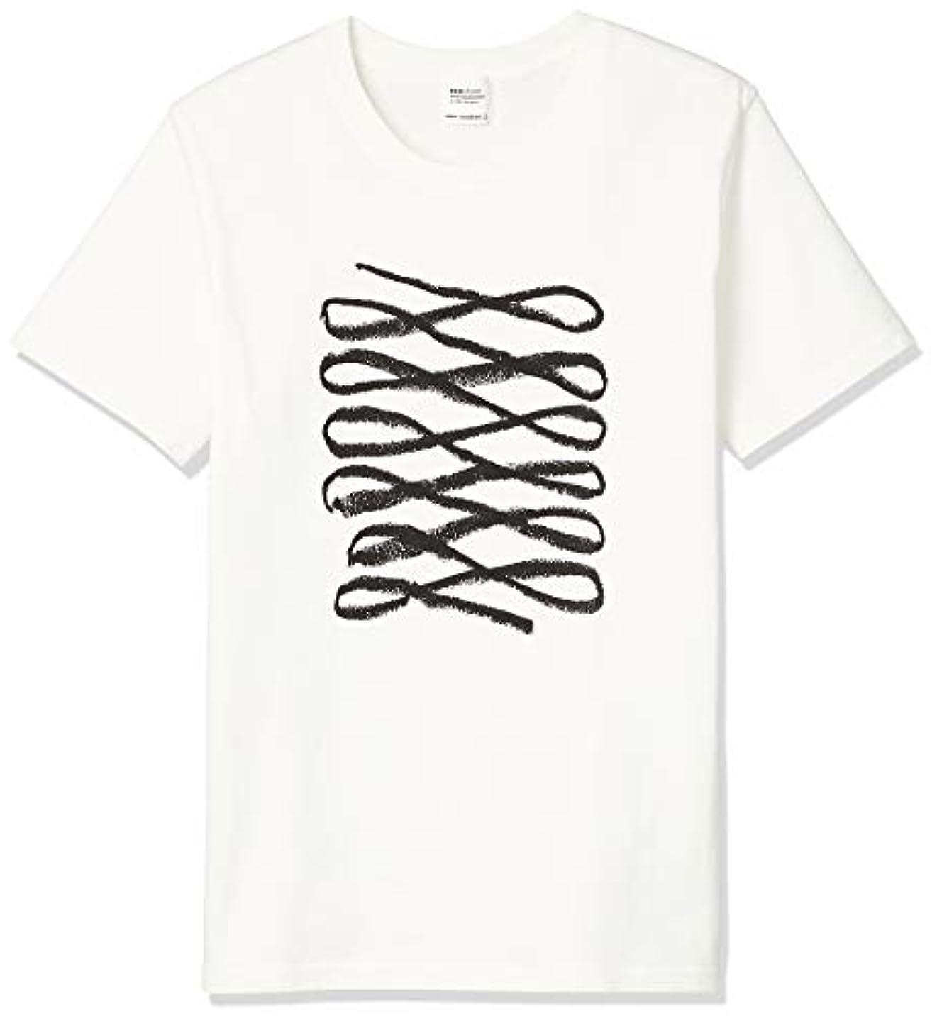 推測フラップアレンジecostore エコストア オリジナルTシャツ BL Sサイズ 白T