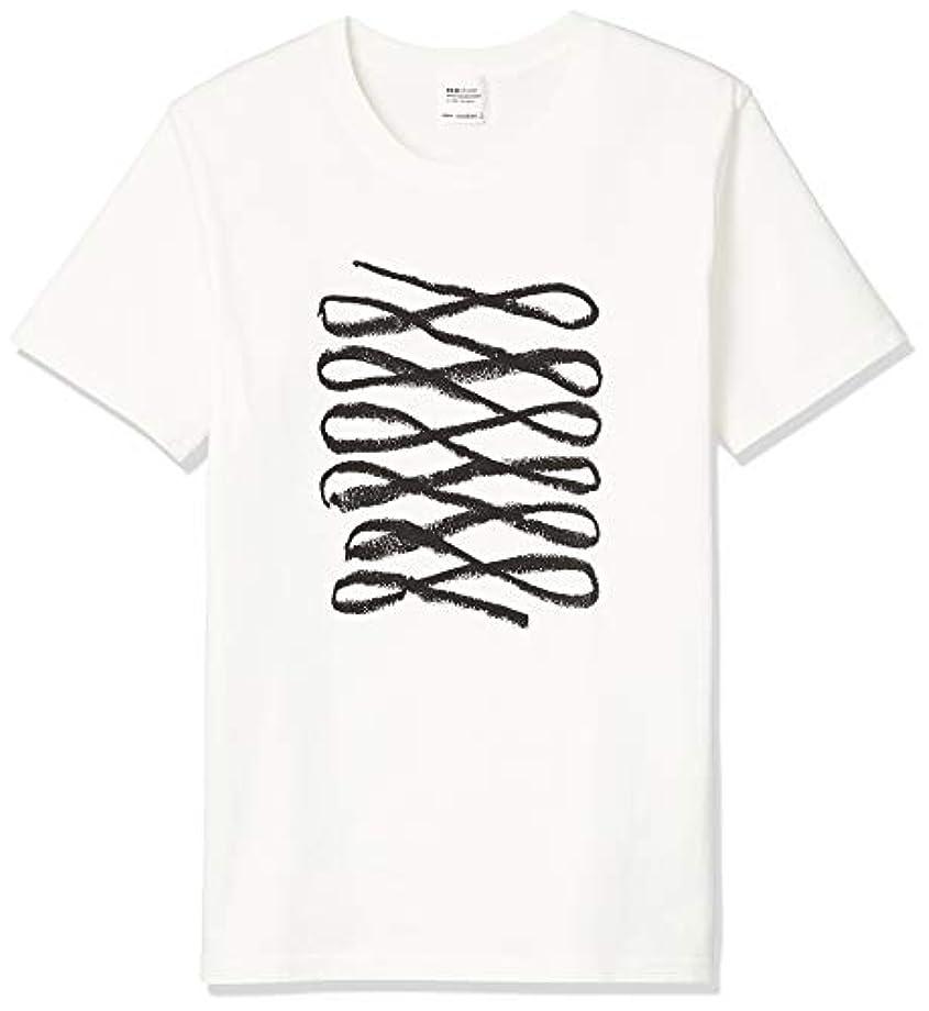 チューリップ息を切らして味わうecostore(エコストア) オリジナルTシャツ BL Sサイズ 白T