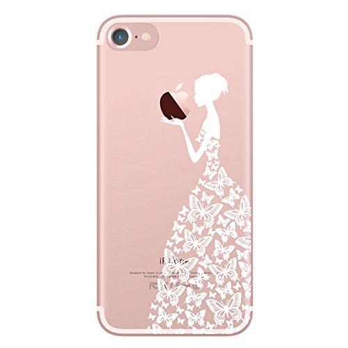 iPhone6 ケース おしゃれ、UCMDA 高品質 TPU...
