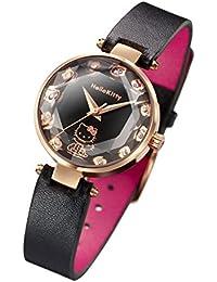 ハローキティ ジュエルウォッチ ダイヤモンド12石の宝飾腕時計