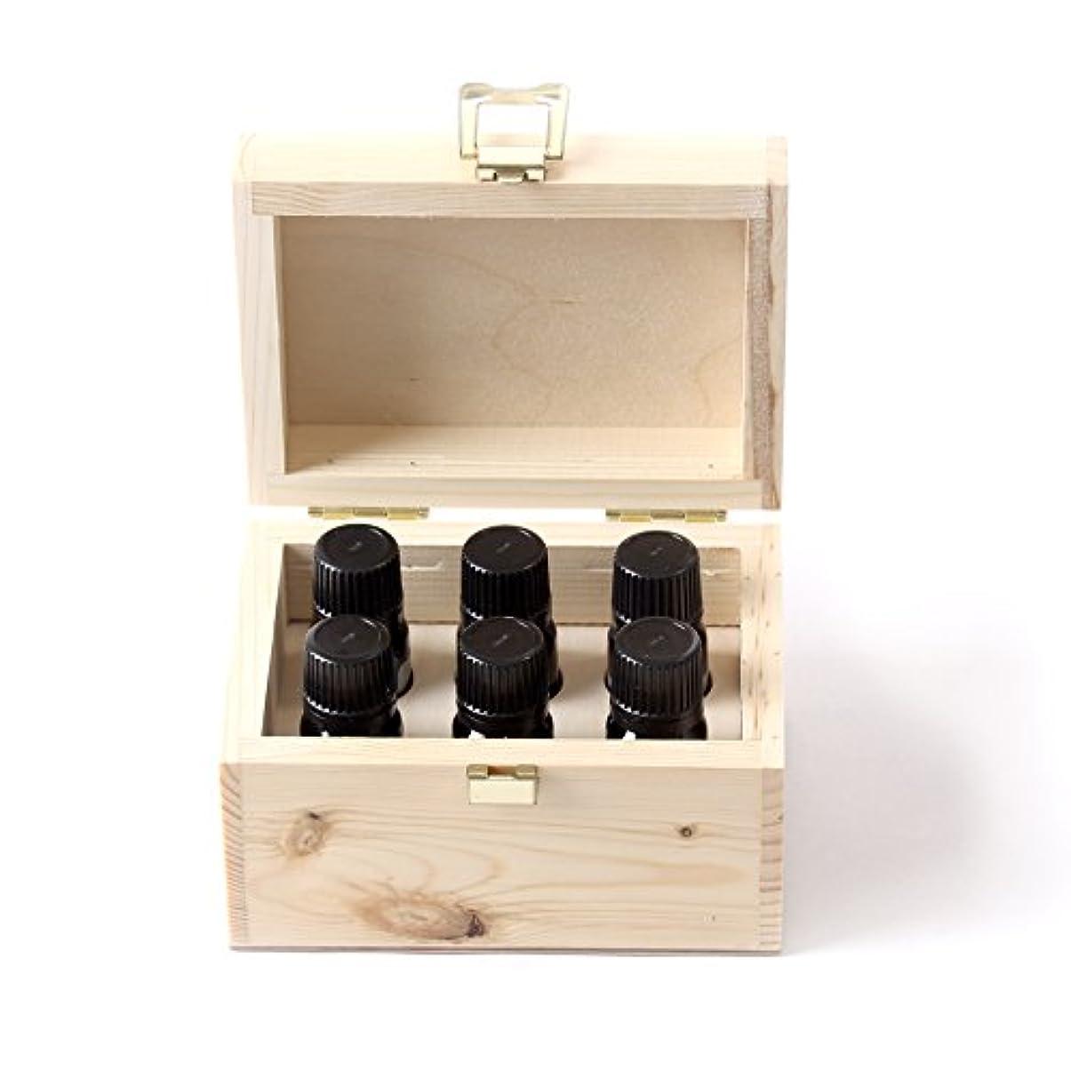 チロ珍味節約するMystic Moments   Fragrant Oil Starter Pack In Wooden Gift Box - 6 x 10ml