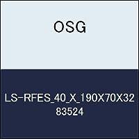 OSG ラフ&フィニッシュエンドミル LS-RFES_40_X_190X70X32 商品番号 83524