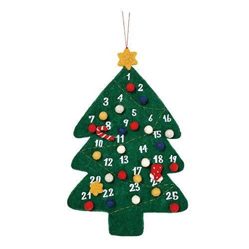 マークス クリスマス フェルトアドベントカレンダー モココ ...