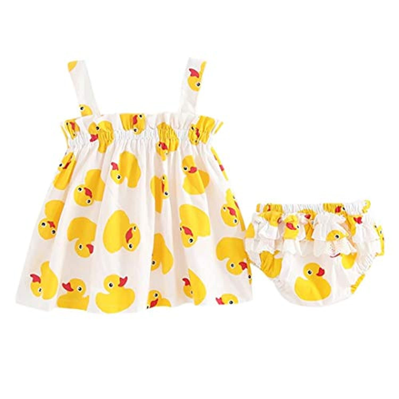 新生児 服 女の子 ベビー服 子供服 出産祝い かわいい ドレス 幼児 ワンピース ドレス パンツ付き 夏服 DAISUKI