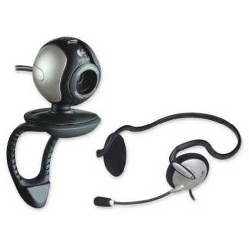 Logicool Qcam Communicate STX +Headset QVC-71HS
