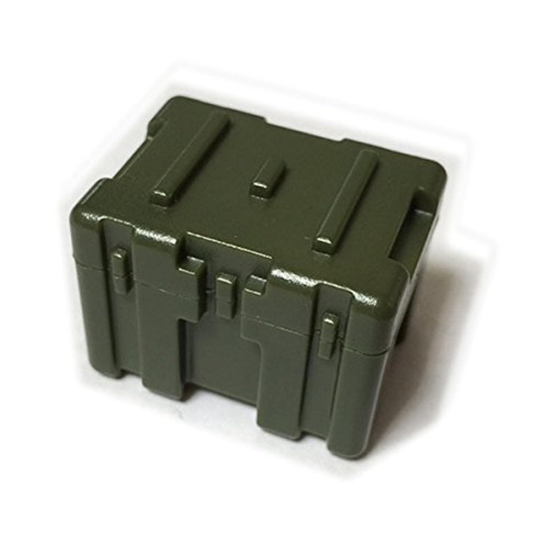 LEGOカスタム品 アーミー 装備品 武器 Tank Green TB206(Transit Case 31.8x23.8x24.9mm)【並行輸入品】