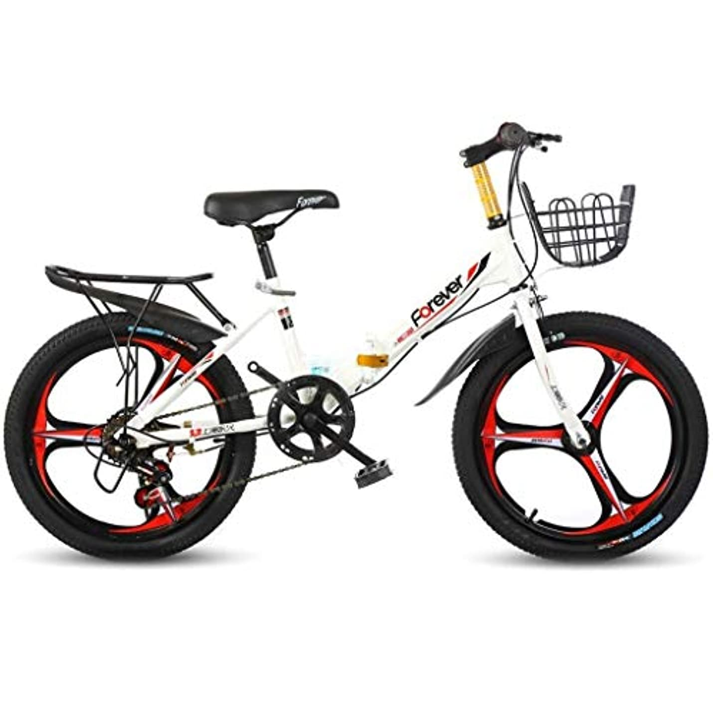シェア筋肉の遺伝子自転車旅行子供用折りたたみシステム山折りたたみ自転車シティ自転車、子供用6速ギア、折りたたみシステム16インチ自転車