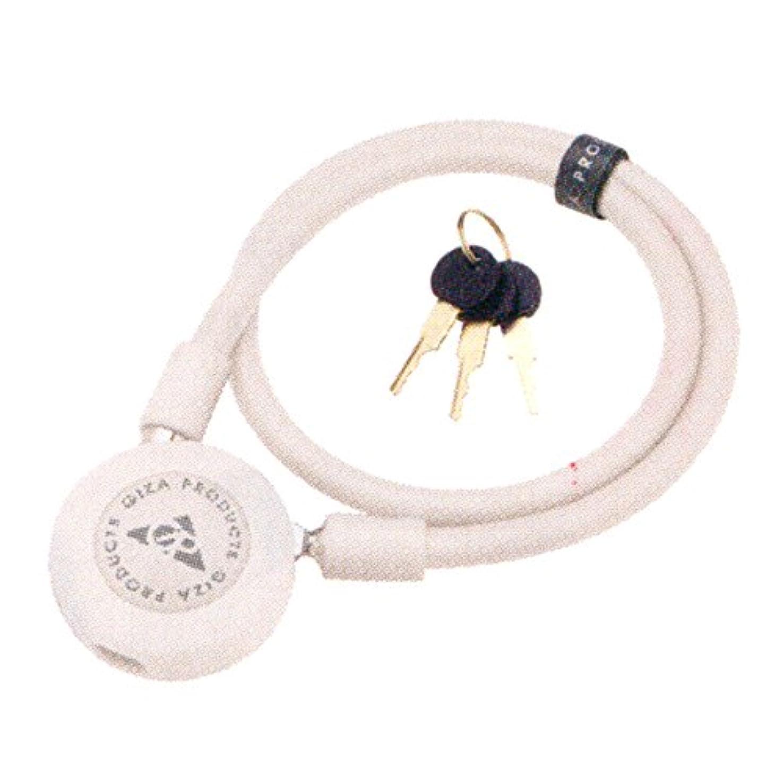 順応性のあるコントロール家畜GIZA PRODUCTS(ギザプロダクツ) ラウンドケーブル ロック LKW20201