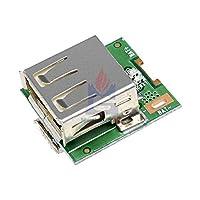 2 ピース 5 ボルト電源モジュールリチウム電池充電保護板ステップアップ昇圧コンバータ LED ディスプレイマイクロ USB DIY 充電器