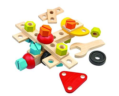 木のおもちゃ コンストラクションセット40