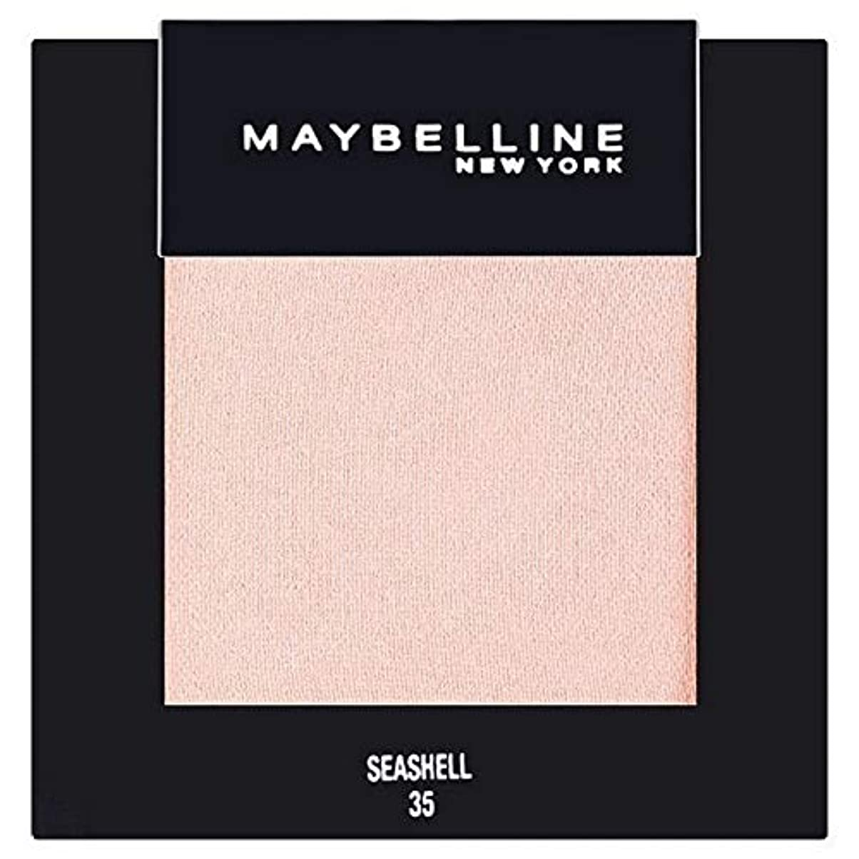 別のラメ女王[Maybelline ] メイベリンカラーショーシングルアイシャドウ35貝殻 - Maybelline Color Show Single Eyeshadow 35 Seashell [並行輸入品]