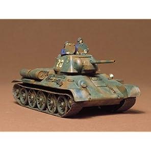 タミヤ 1/35 ミリタリーミニチュアシリーズ No.59 ソビエト陸軍 T34/76戦車 1943年型 プラモデル 35059
