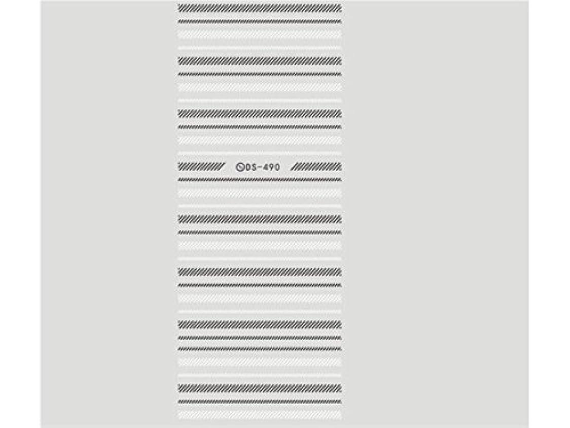 百年全国経歴Osize ファッションウォーターマーク美しい先端ネイルアートネイルステッカーネイルデカールネイルステッカーを彫刻(図示)