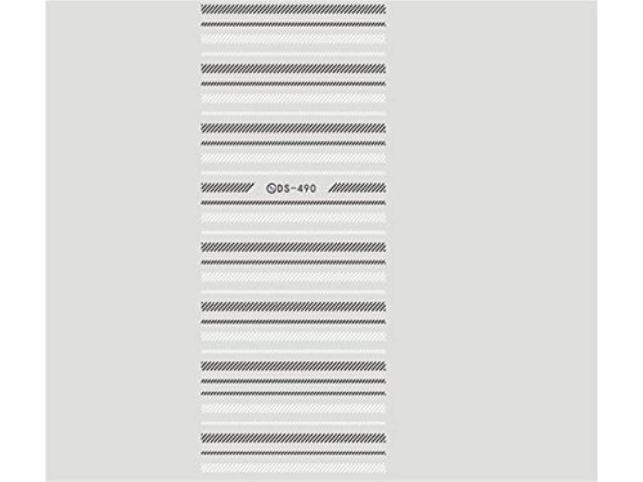 無礼に差別する調整するOsize ファッションウォーターマーク美しい先端ネイルアートネイルステッカーネイルデカールネイルステッカーを彫刻(図示)