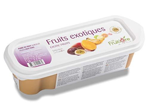 ラ・フルティエール (冷凍) エキゾチックフルーツピューレ 1kg