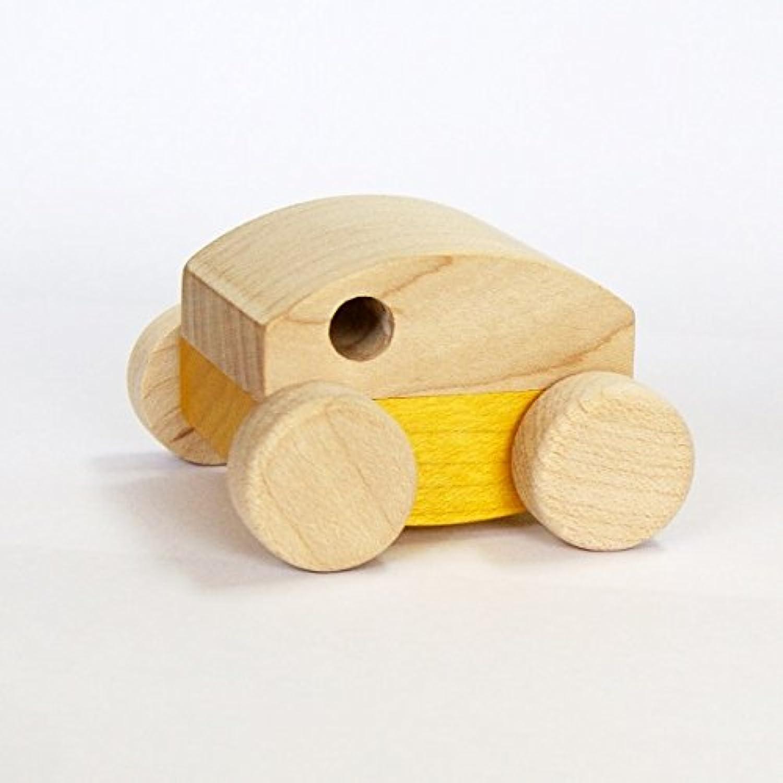 マストロ?ジェッペット 木のおもちゃ 車のみ GARAGE CAR YELLOW