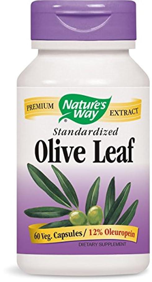 オレンジ津波病な海外直送品 Nature's Way Olive Leaf, EXTRACT, 60 CAP